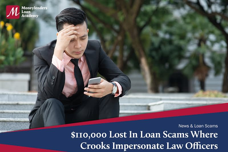 $110,000 Lost In A Recent Loan Scam Where Crooks Impersonate MAS Officers From The Ministry Of Law Ministry Of Law MLA Singapore